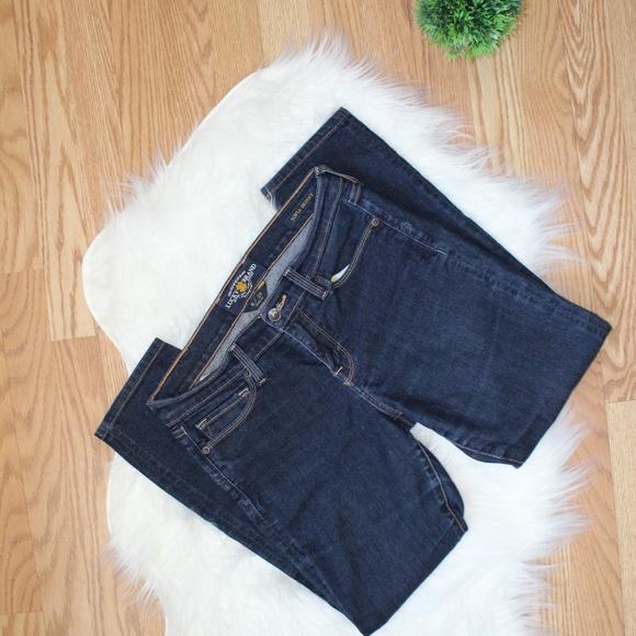Lucky Brand Dark Wash Sophia Skinny Jeans 8 EUC